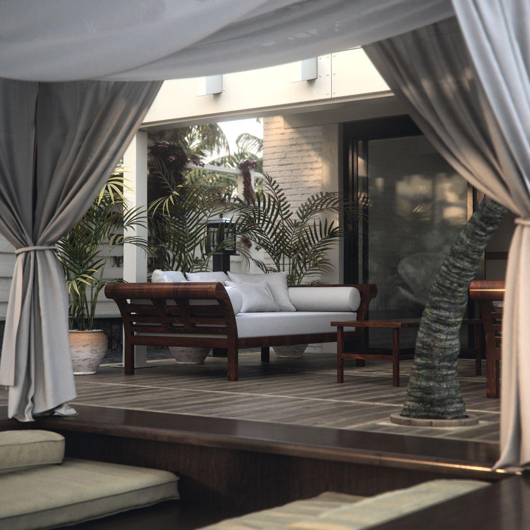 Architectural Visualizations SunRise in Tot M House cam9 jpg