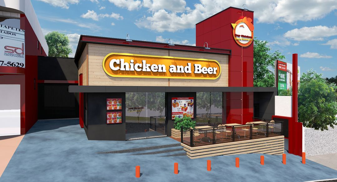 Fast Food Restaurant 3D Modeling ZAK 01 jpg