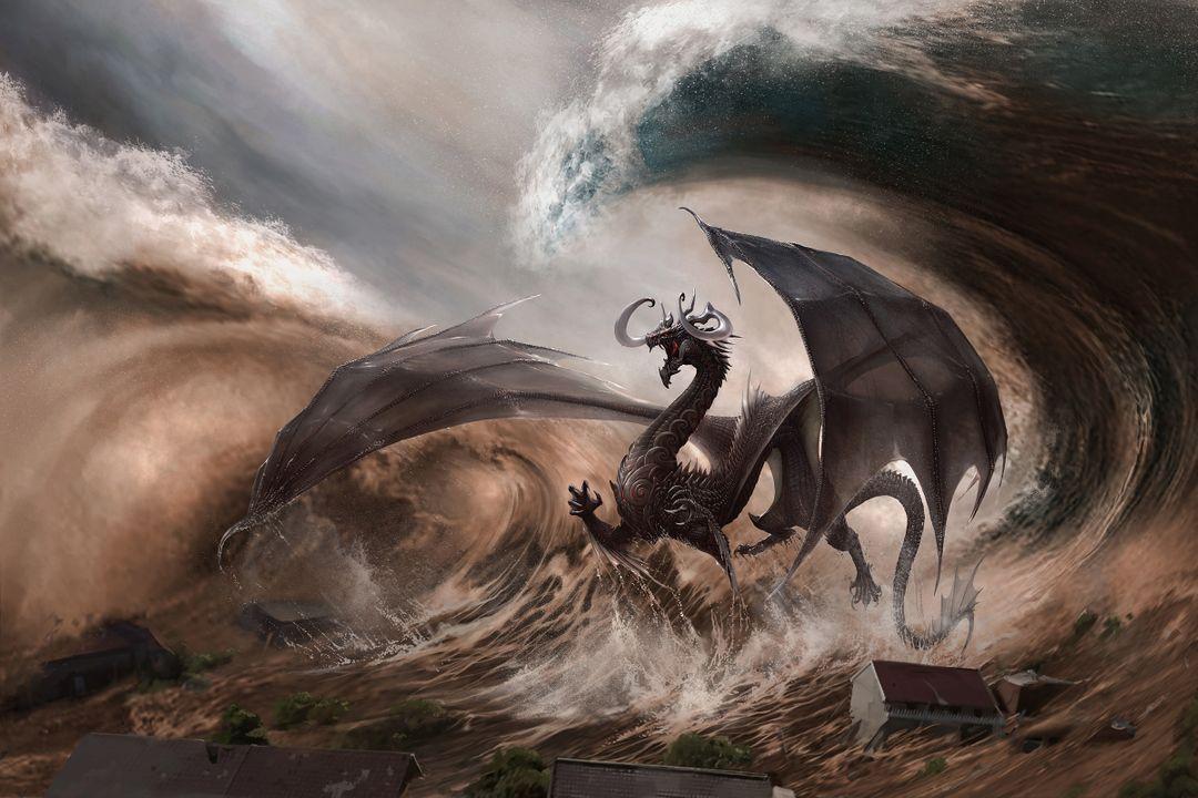 Fantasy Art Illustration Naluapo the wave breaker 1 jpg