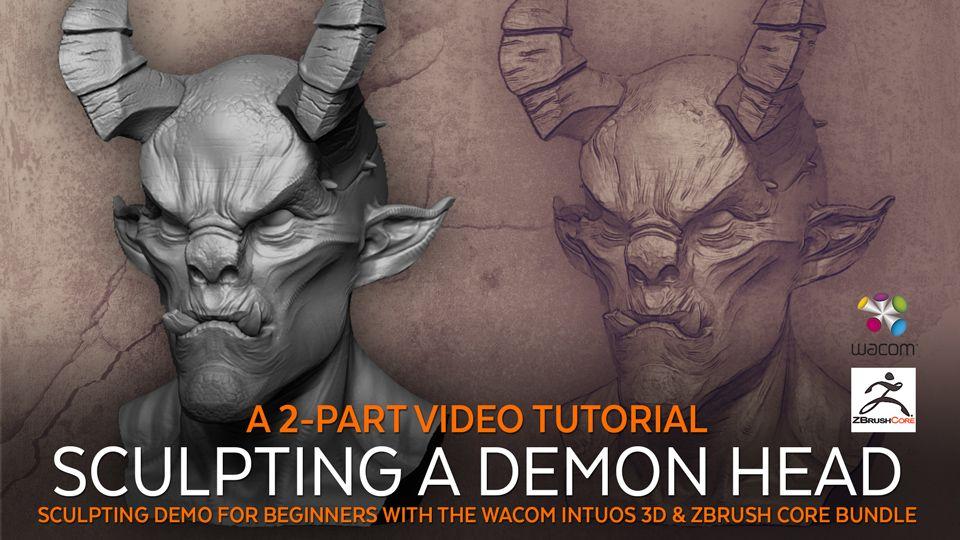 Sculpting Tutorial for Wacom Video Teaser jpg