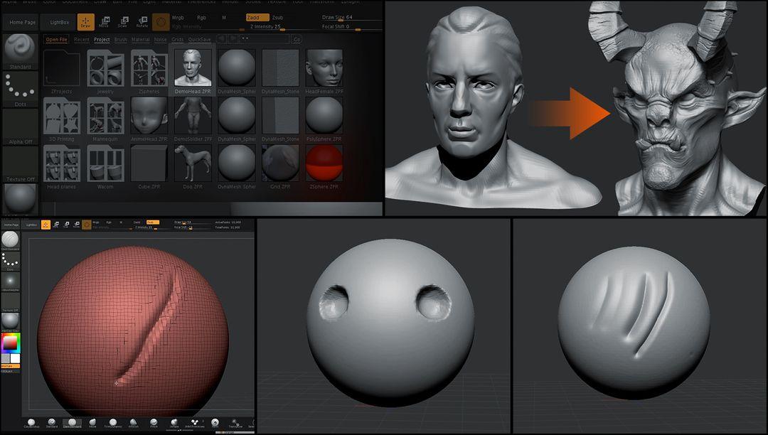 Sculpting Tutorial for Wacom jz Wacom Tutorial 01 01 jpg