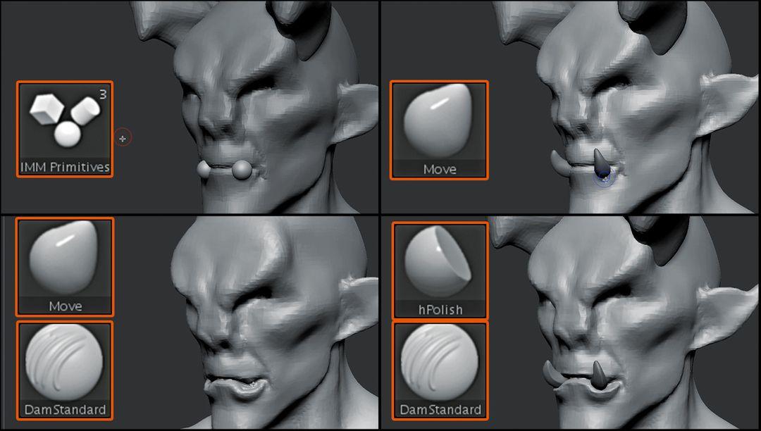 Sculpting Tutorial for Wacom jz Wacom Tutorial 01 04 jpg