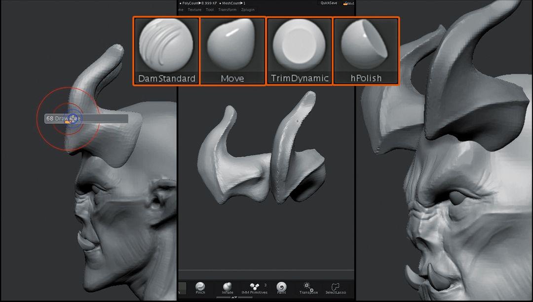 Sculpting Tutorial for Wacom jz Wacom Tutorial 01 06 jpg