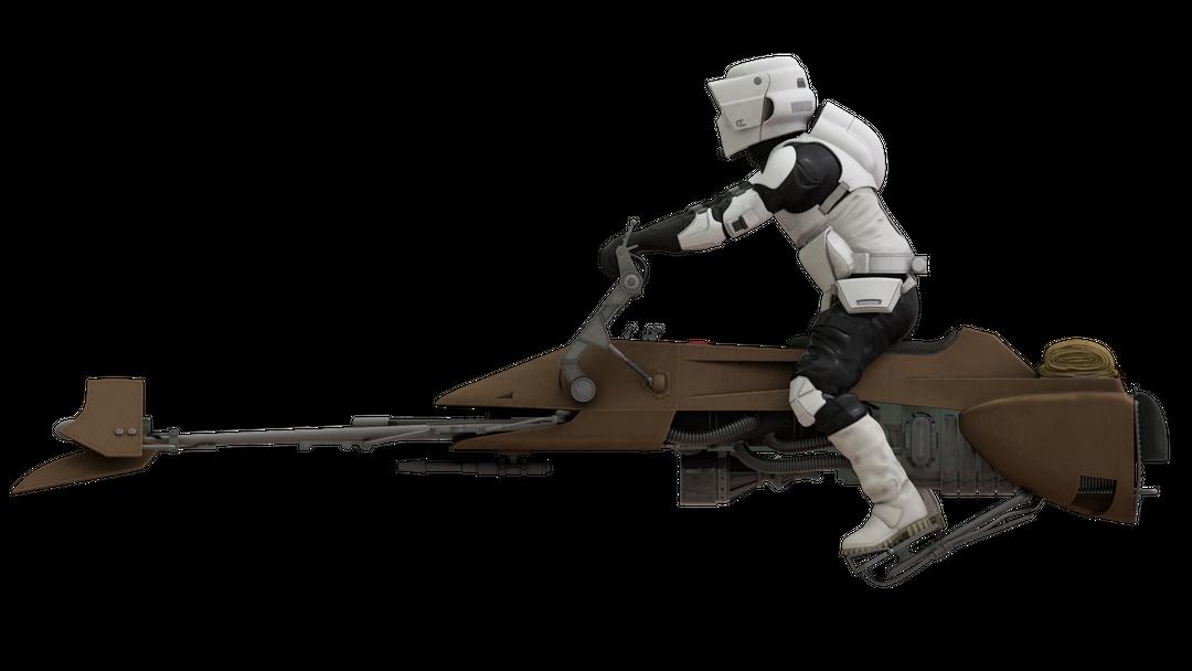Star Wars Scout Trooper side png