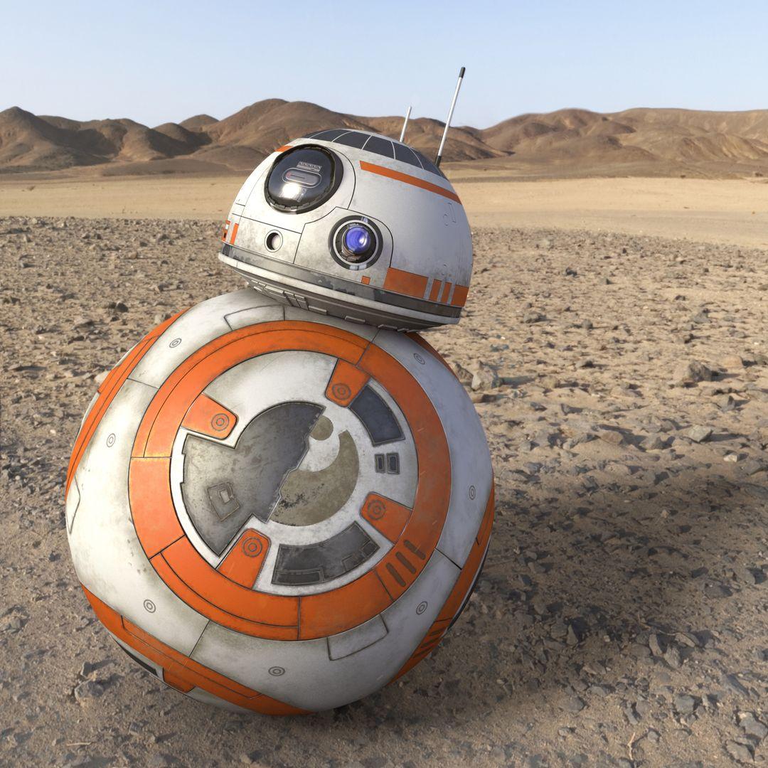 Various Star Wars BB 8 render shot jpg
