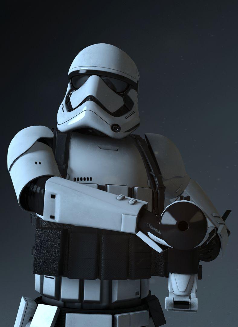 Various Star Wars FIrst Order Heavy Stormtrooper 0003 jpeg