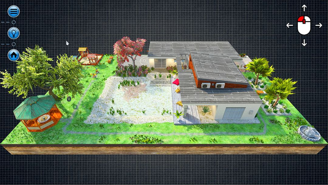 Interactive 3D Architecture (Unreal Engine, Unity3D) Storey left jpg