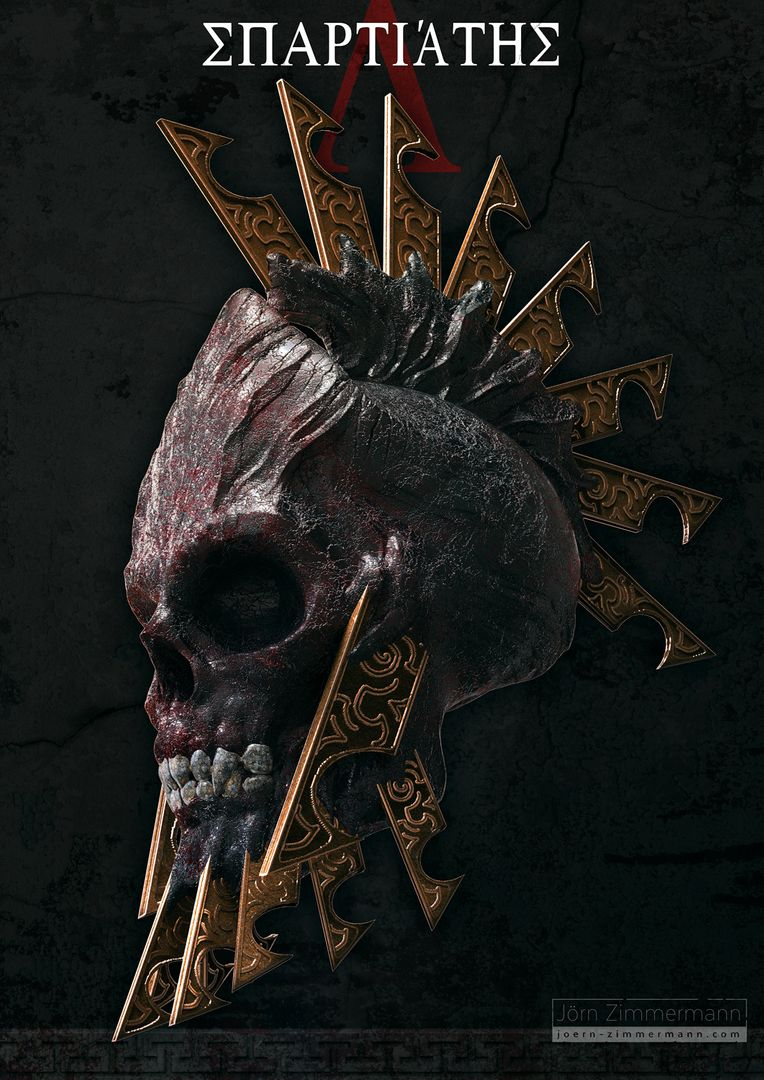Warrior Skulls jz Spartan Skull 01 jpg