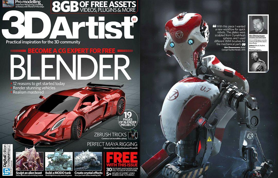 Robot Concept jz 3D Artist 83 02 jpg