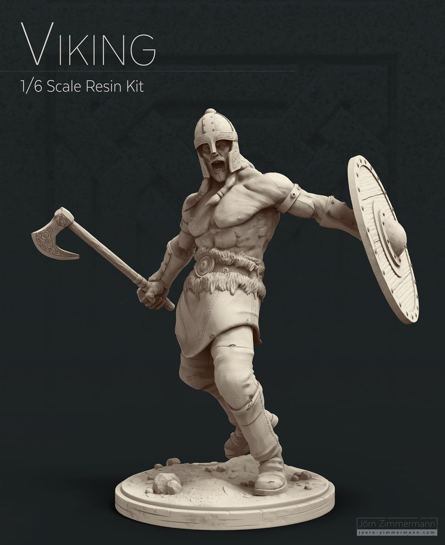 Viking Miniature jz Viking wip 8 2 jpg