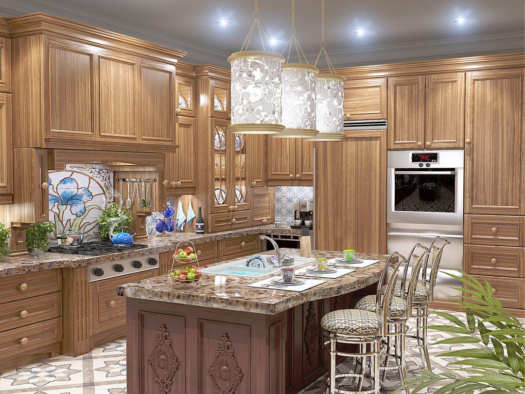 Architectural Visualisation (VRay, Octane) Kitchen jpg