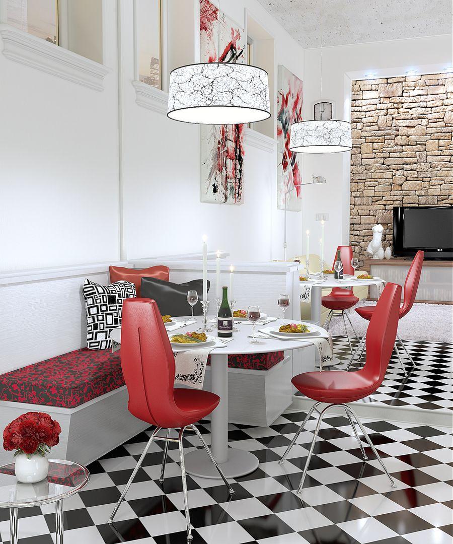 Architectural Visualisation (VRay, Octane) Restaurant jpg