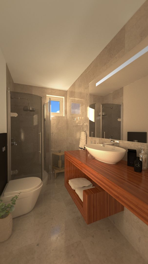 architecture visualization - houses project bathroom 2 final jpg
