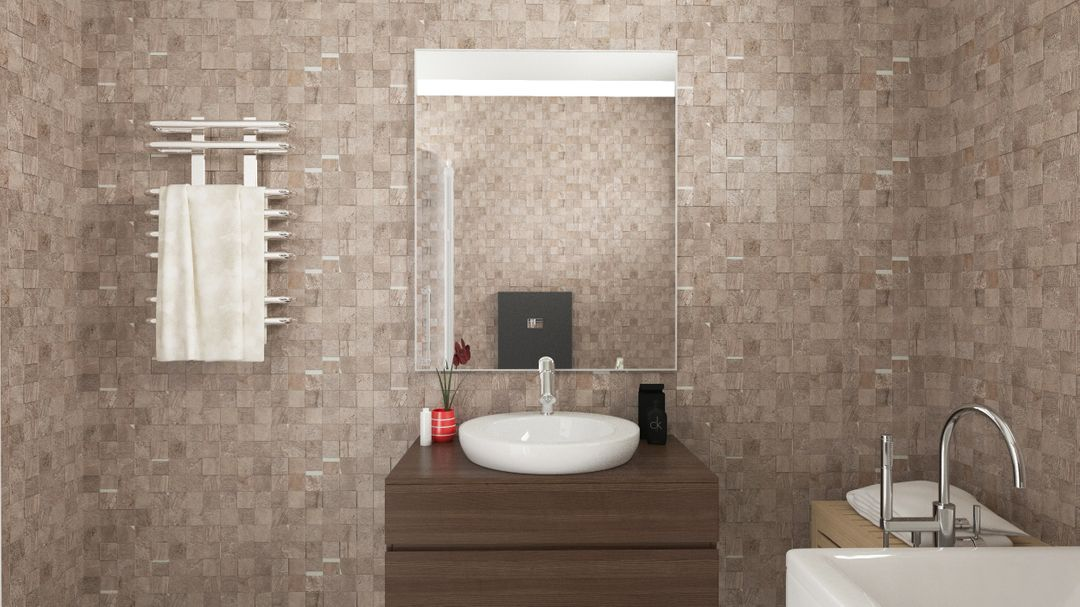 architecture visualization - houses project bathroom jpg