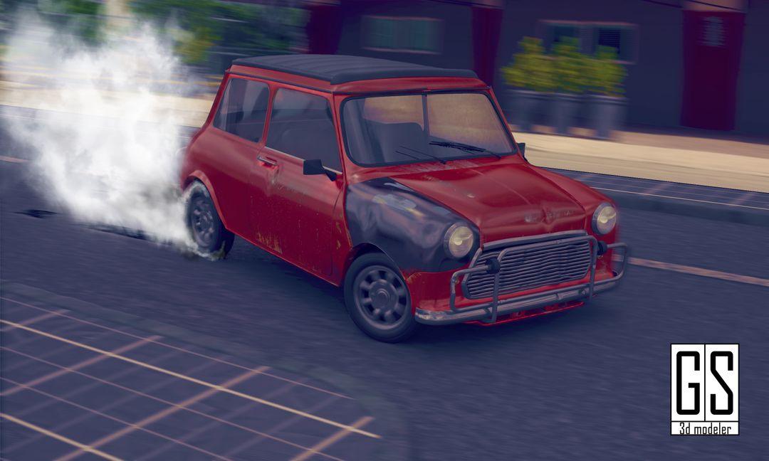 The Bourne Identity- Mini Cooper Car Chase Mini jpg