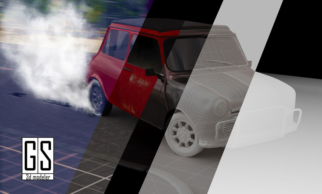 The Bourne Identity- Mini Cooper Car Chase compose jpg