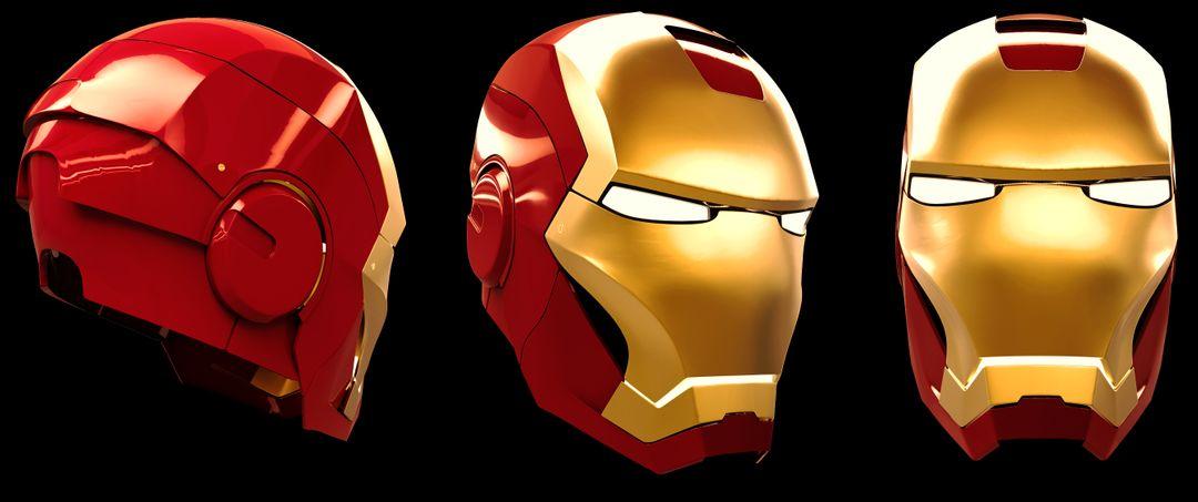 Iron Man Helmet & Half Body Ironman helmet Final PS jpg