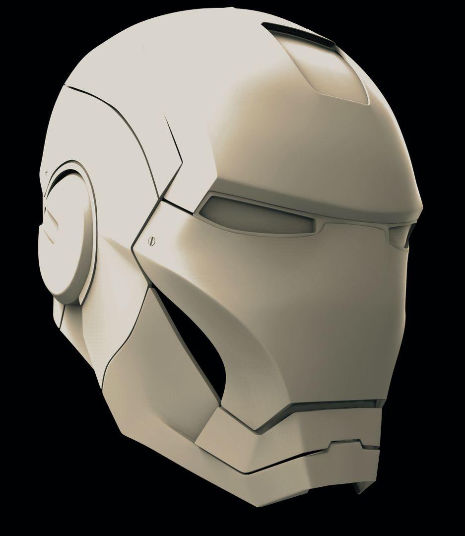 Iron Man Helmet & Half Body Ironman helmet only jpg
