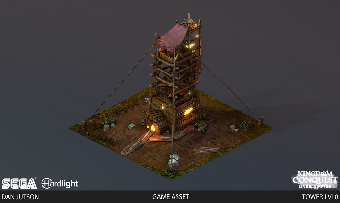 Kingdom Conquest: Dark Empire - Tower Assets Tower0 png