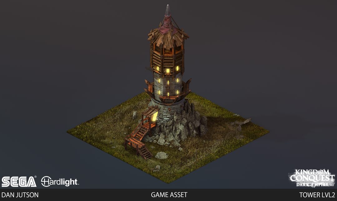 Kingdom Conquest: Dark Empire - Tower Assets Tower2 png