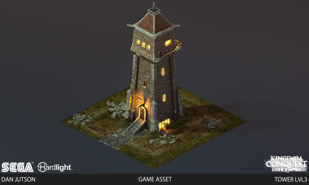 Kingdom Conquest: Dark Empire - Tower Assets Tower3 png