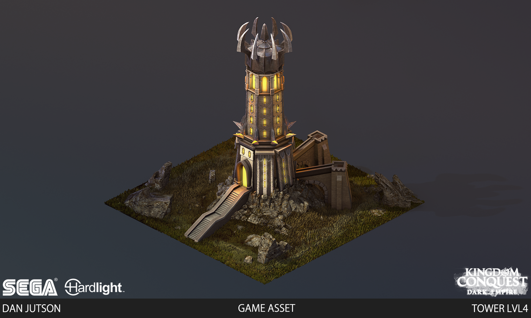 Kingdom Conquest: Dark Empire - Tower Assets Tower4 png