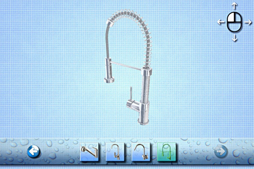 Product Configurator/ Product Viewer (WebGL, Vuforia) Faucet 2 jpg
