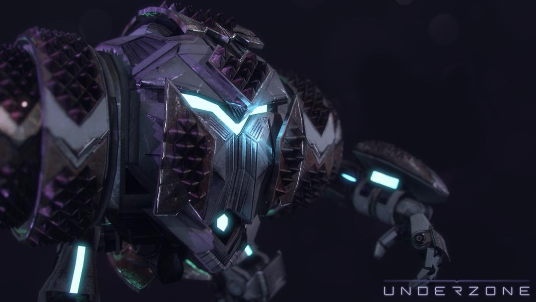 Underzone - Player Character mole bullshots png
