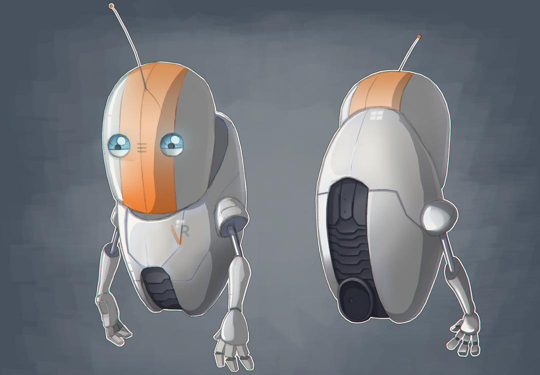 Guidebot MkII - NPC Companion RVConcept png