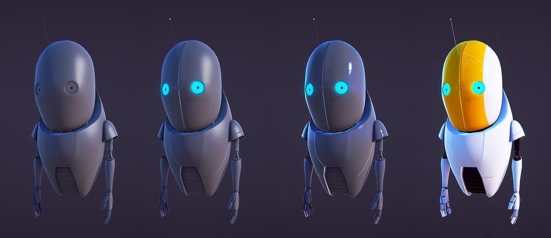 Guidebot MkII - NPC Companion RV model back png