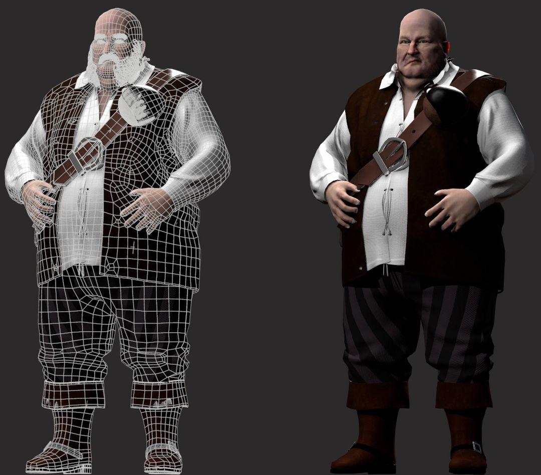 Fat Pirate posed jpg