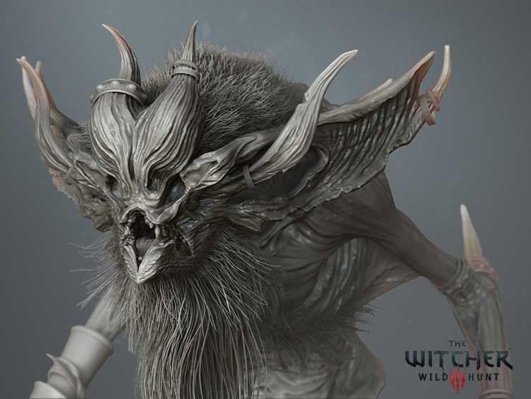 The Witcher 3 Katakan head detail shot 01 jpg