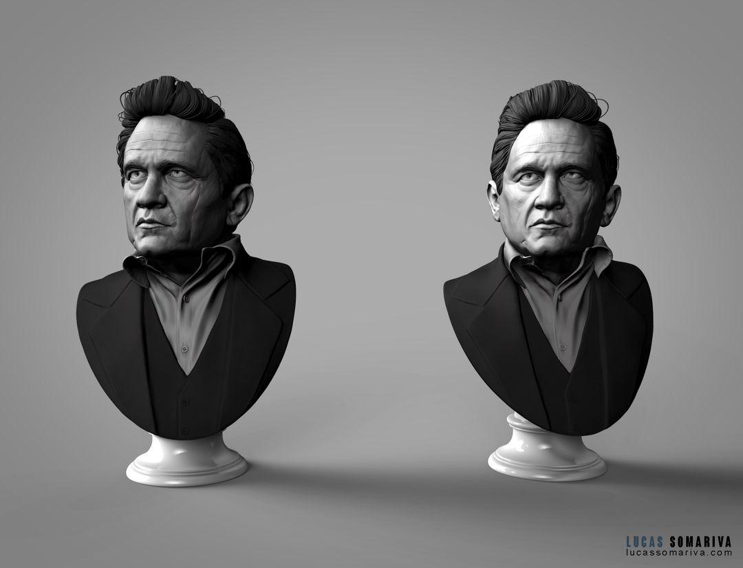 Johnny Cash Portrait JCash 02 jpg