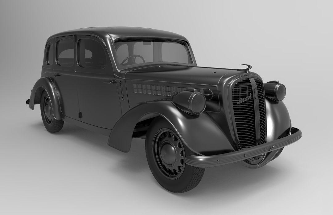 Cars modelling (hardsurface) skoda favorit front jpg