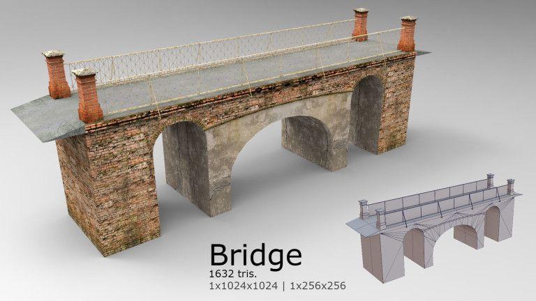 Building modelling bridge 01 768x432 jpg