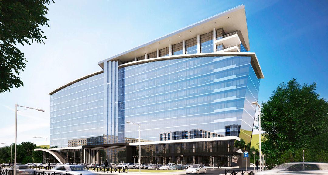 Administrative, Office, Business Buildings. Design project, 3D Без имени 1 jpg