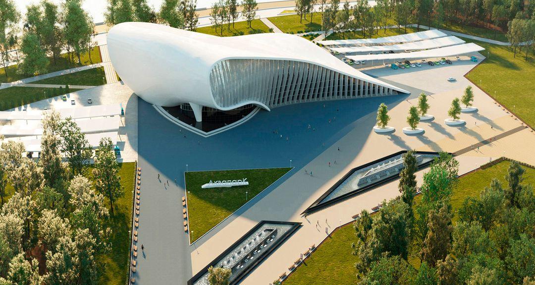 Administrative, Office, Business Buildings. Design project, 3D Без имени 3 jpg