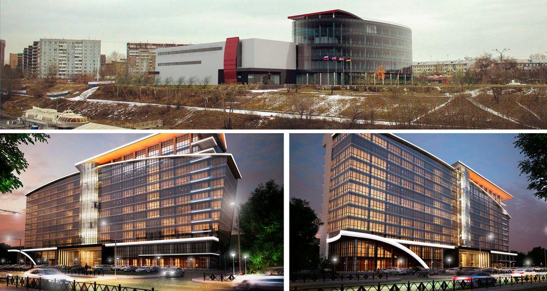 Administrative, Office, Business Buildings. Design project, 3D Без имени 5 jpg