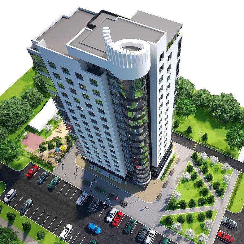 Administrative, Office, Business Buildings. Design project, 3D Без имени 6 jpg