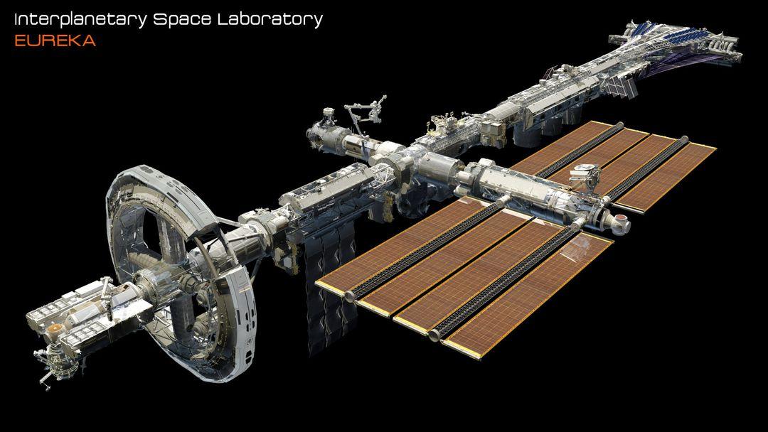 EUREKA Interplanetary Space Station Laboratory 3D Design david yingai lo pan davidyingai eureka spacestation b 1 jpg