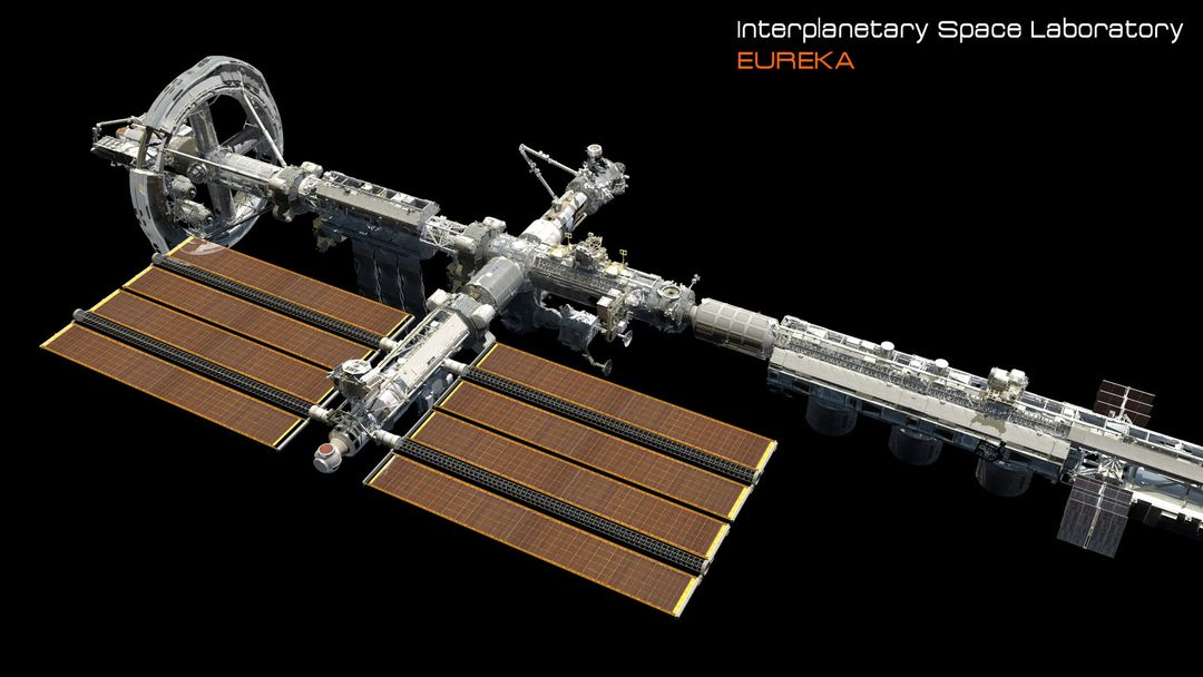 EUREKA Interplanetary Space Station Laboratory 3D Design david yingai lo pan davidyingai eureka spacestation d jpg