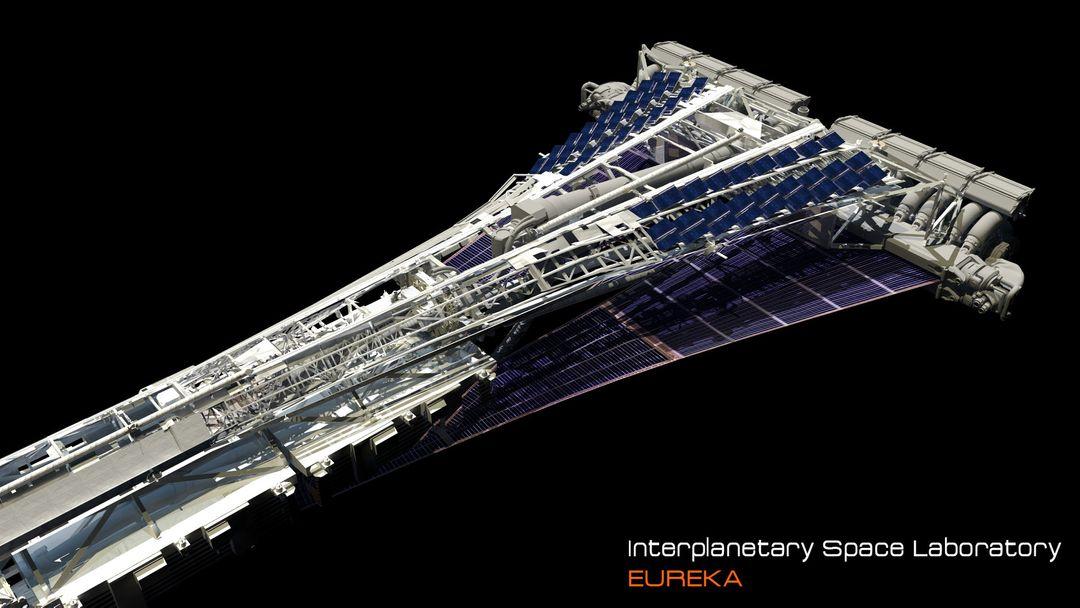 EUREKA Interplanetary Space Station Laboratory 3D Design david yingai lo pan davidyingai eureka spacestation e jpg