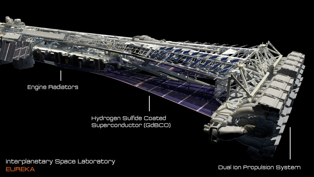 EUREKA Interplanetary Space Station Laboratory 3D Design david yingai lo pan davidyingai eureka spacestation f jpg