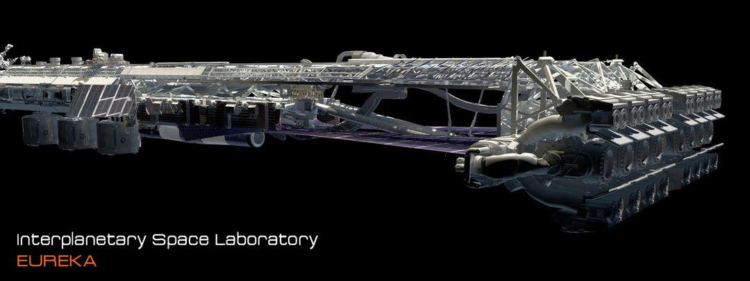 EUREKA Interplanetary Space Station Laboratory 3D Design david yingai lo pan davidyingai eureka spacestation g jpg
