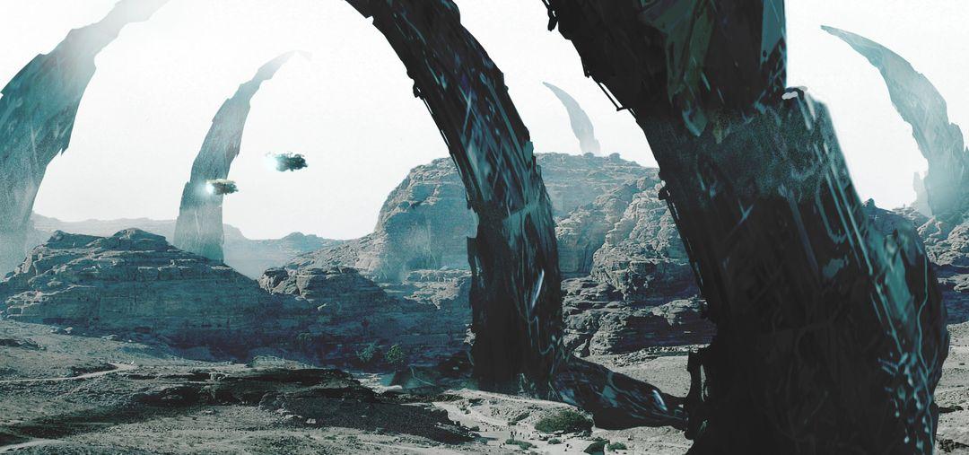 Illustration and Concept Art 2017 DesertComplex V6 jpg