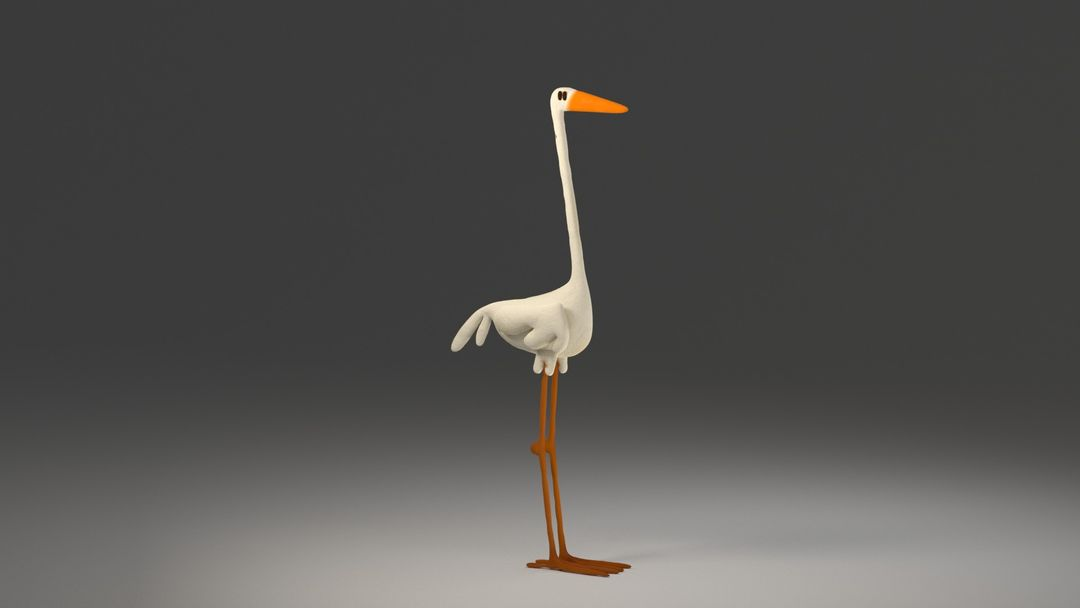 3D Charcaters and Rigs BIRD Rigging v0002 beauty 0001 jpg
