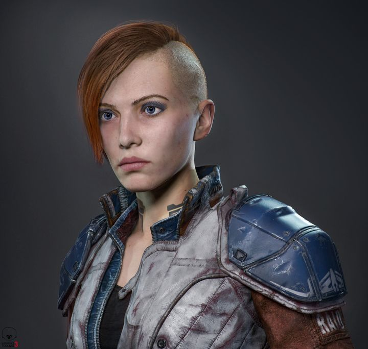 Real-time Game Character Production by CG Hero Viktor Grytsenko