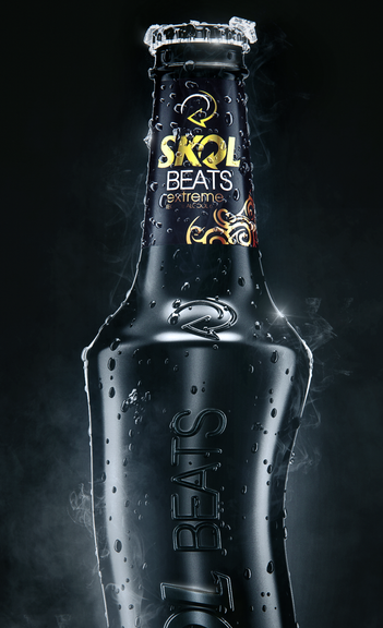 Skol Beats Black Packaging by CG Hero Rodrigo Raiol