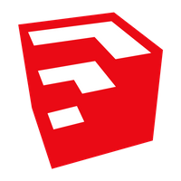 Sketchup Software Icon