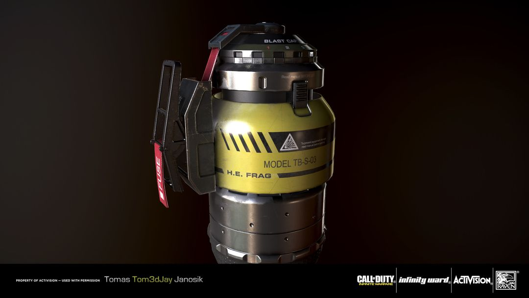 Pulse Grenade for Call of Duty